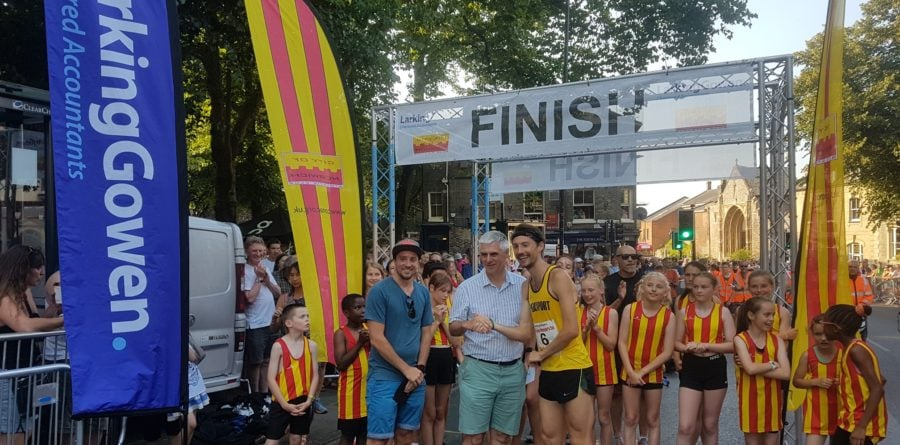 Larking Gowen Proud Sponsor of Famous Norwich Road Race