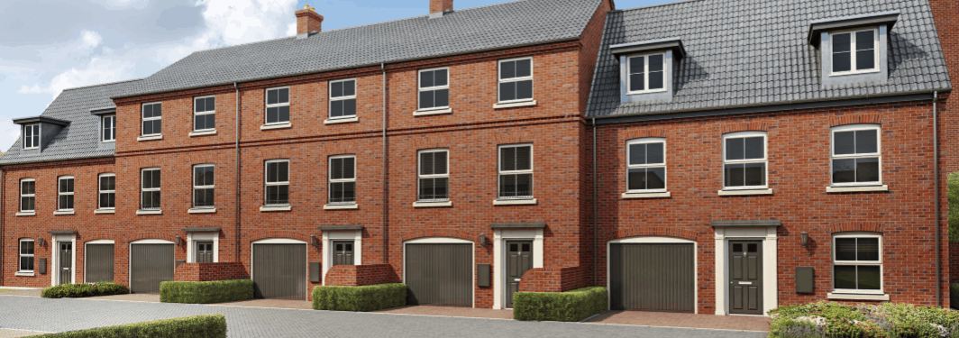 Work starts on new central Norwich houses