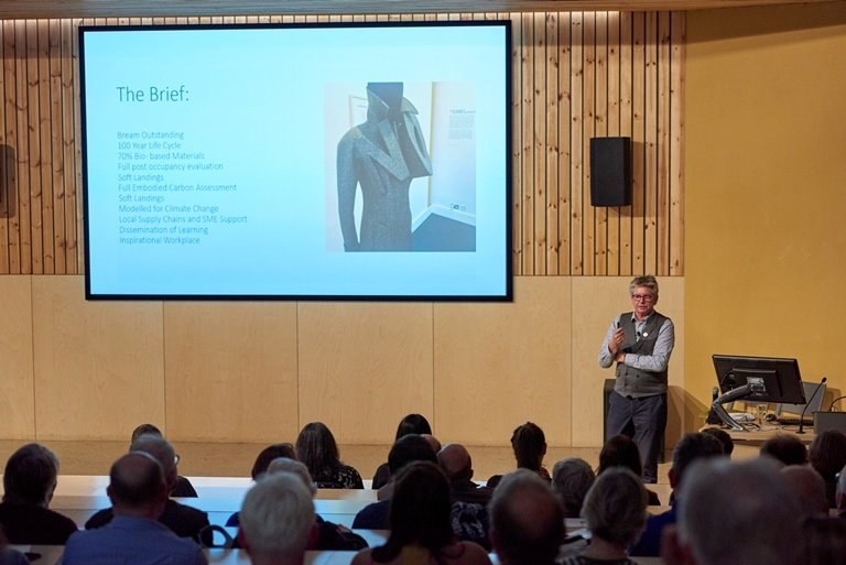 Lecture and exhibitions on sustainable architecture at UEA