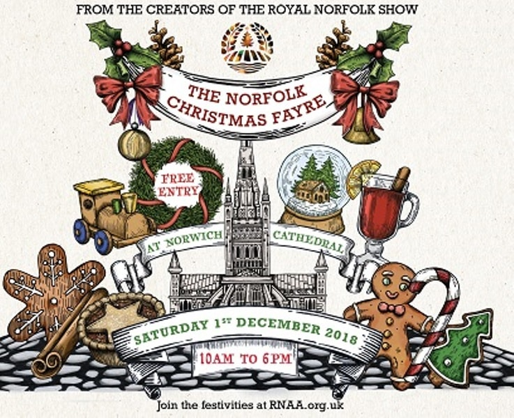 Event: Norfolk Christmas Fayre at Norwich Cathedral 1st December