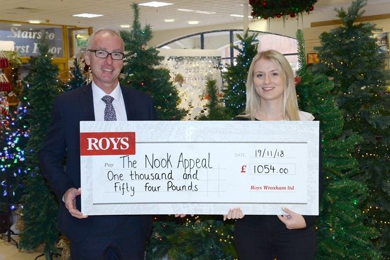 Bumper raffle proves a huge success at Roys' Christmas customer evening