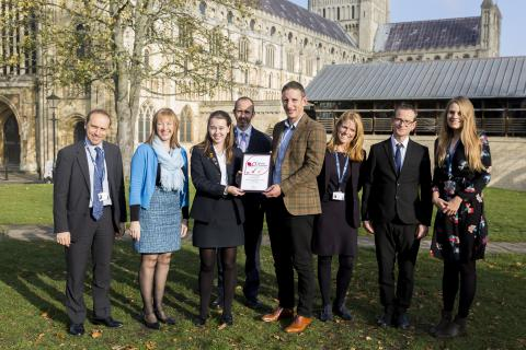 Norwich School awarded Top Marks For Enterprise by Norfolk Chamber