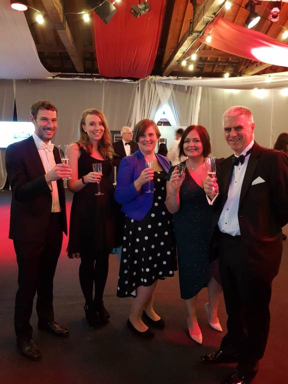 Larking Gowen national runners up in Workplace Wellbeing Award