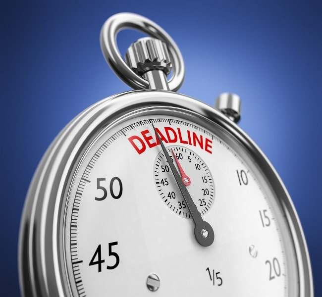 The tax return deadline looms – don't delay, act today!