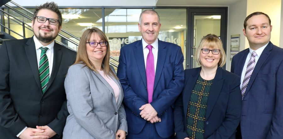 Four new managers announced by Chartered Accountants Lovewell Blake