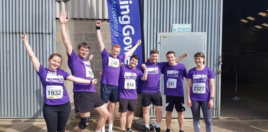 Enter your team in the Larking Gowen City of Norwich Half Marathon