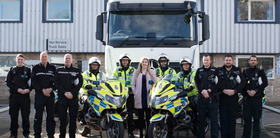 Orwell Truck & Van supports police Operation