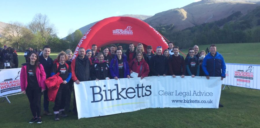 Birketts donated over £150,000 to good causes in 2018