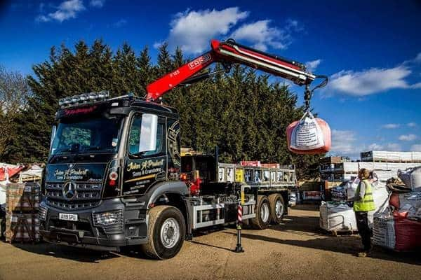 Sowing the seeds of future success with manoeuvrable Mercedes-Benz