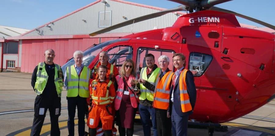 "Business Challenge winners ""on the up"" with East Anglian Air Ambulance"