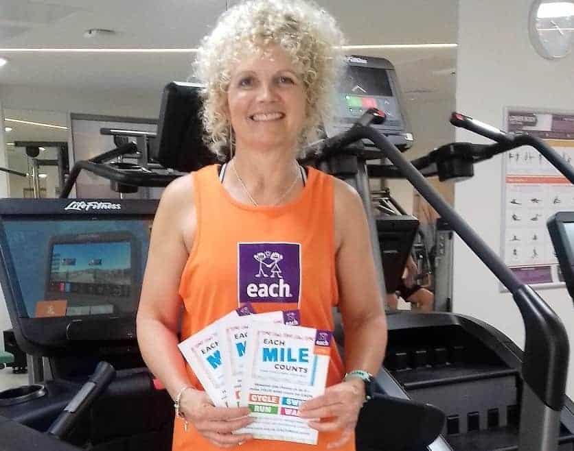 West Acre triathlete reveals EACH Mile Counts challenge