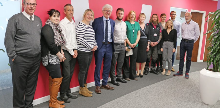 Norman Lamb MP recognised Flagship Group's efforts in Mental Health Awareness Week