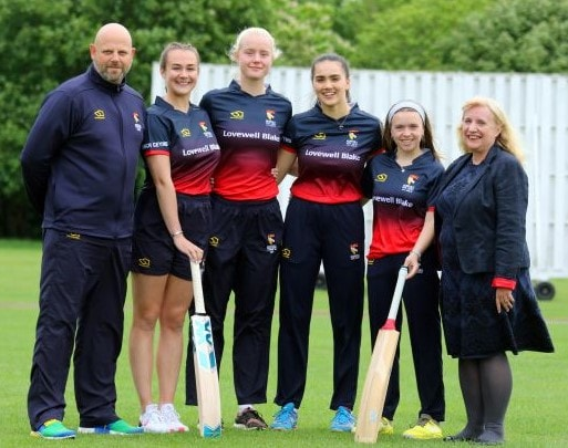 Young Norfolk cricket club take to the crease with sponsorship deal