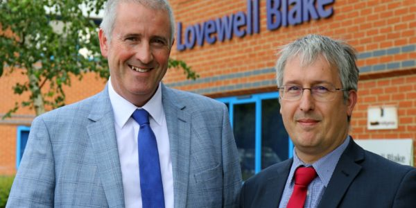 Lovewell Blake Senior Partner Paul Briddon (left) With New Manager Richard Carr (002) (002)