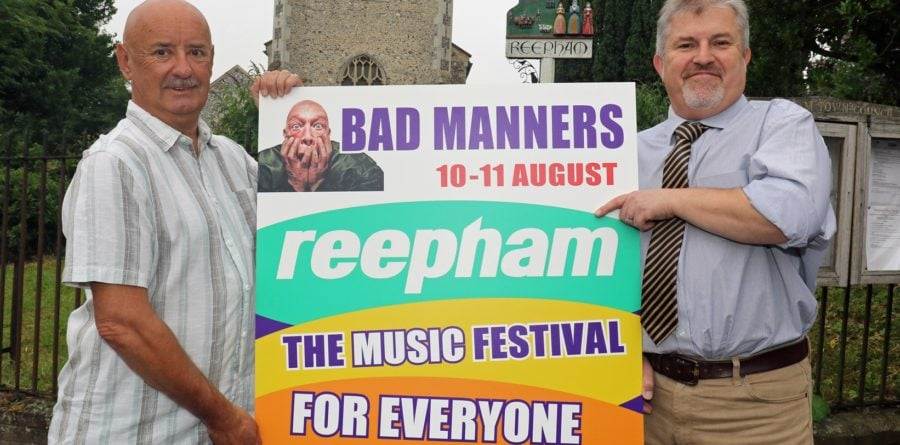 Lovewell Blake supports Reepham Festival for fourth year running
