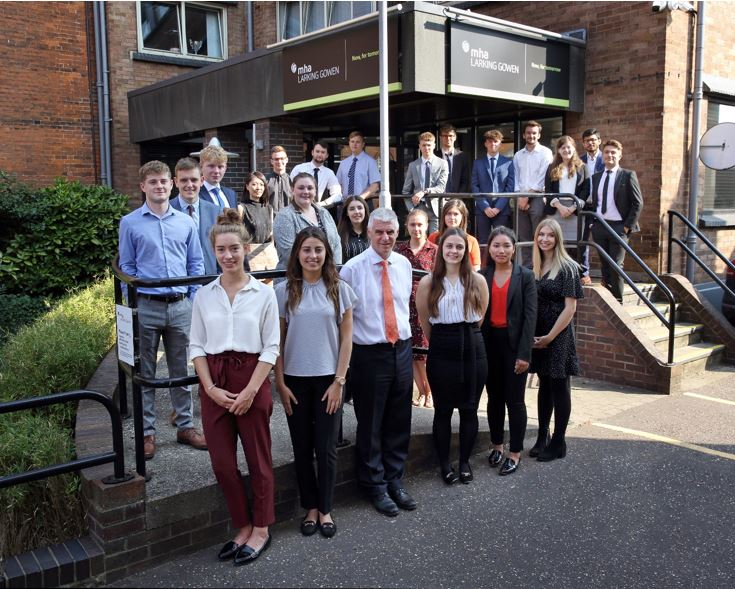 This September MHA Larking Gowen welcome in their new apprentices