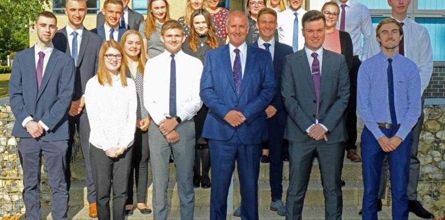 East Anglia based Lovewell Blake welcomes new trainees