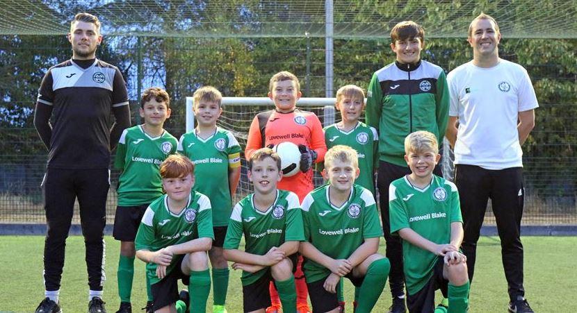 Horsford Under 11's get new kit thanks to Lovewell Blake