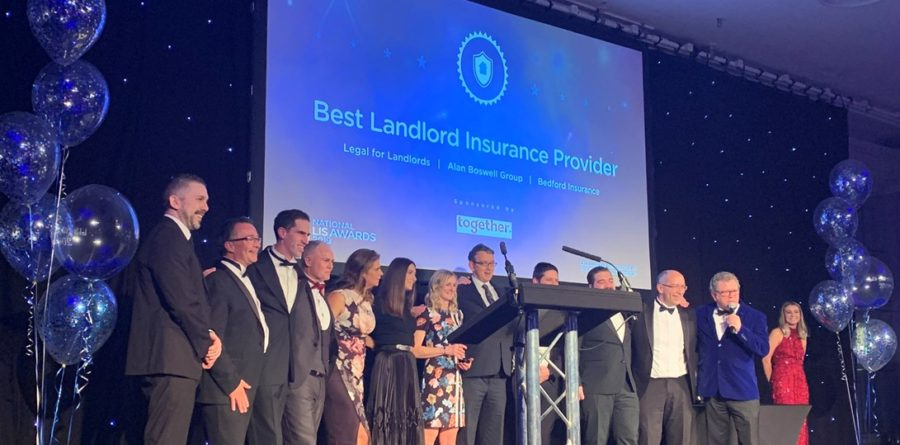 Alan Boswell Group take home top prize at national landlord awards