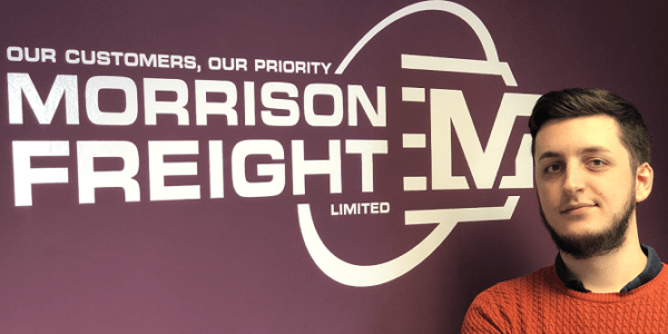 Jamie Abbott, Morrison Freight