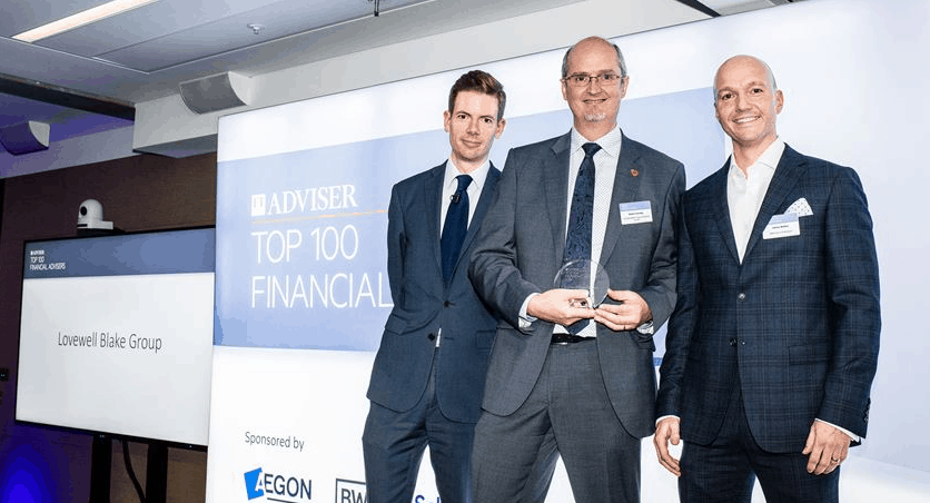Financial Times ranks Lovewell Blake in Top 100 Financial Planners list