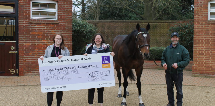 Frankel fundraising pays for a day of EACH care and support