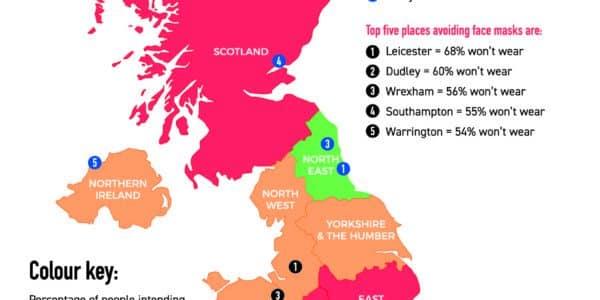 UK Mask Map
