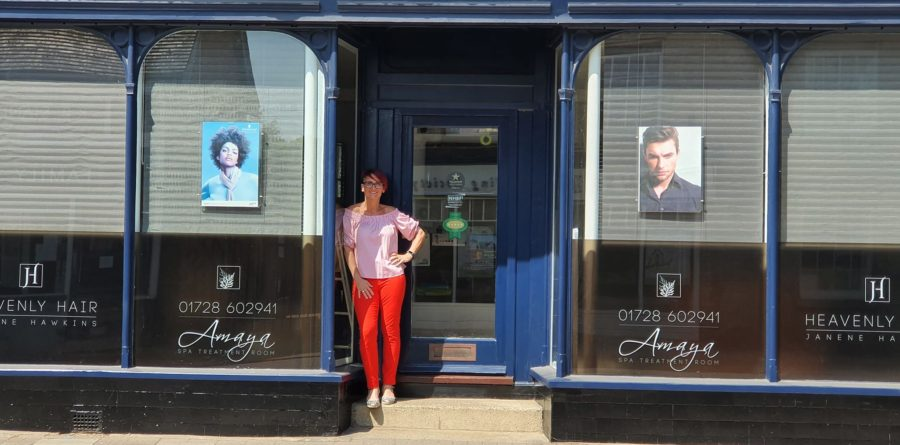 'We are back, but not in black' – Hairdresser launches national campaign