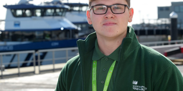 Jack Hurren, Trainee Balance Of Plant Technician Credit Warren Page & ScottishPower Renewables