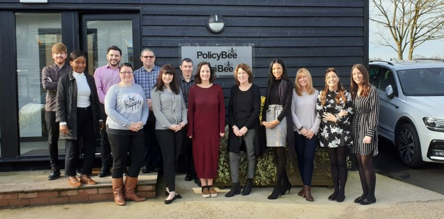 PolicyBee based in Ipswich are named one of top 100 tech companies