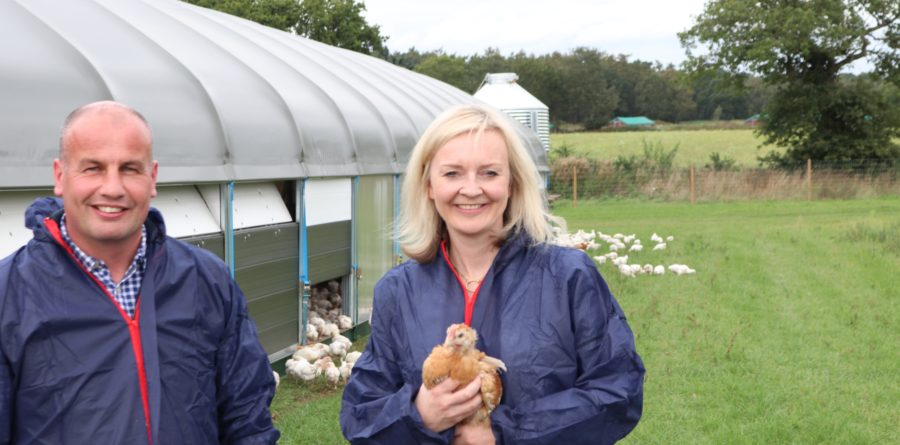 Trade Secretary outlines Government's agricultural exports vision at farm
