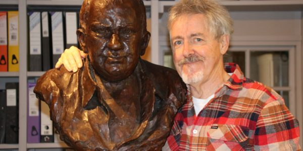 Griff Rhys Jones And Mel Smith Bust (002)